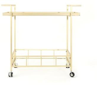 Orren Ellis Efird Outdoor Modern Bar Serving Cart