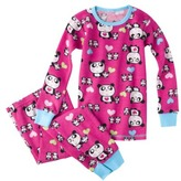 GE Gerber® Toddler Girls' Panda Thermal Pajama Set