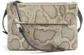 Vince Camuto Gally Leather Crossbody Bag - Beige