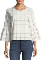 Waverly Grey Marly Bell-Sleeve Top