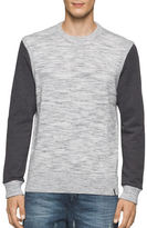 Calvin Klein Jeans Space Dyed Heathered Crew Shirt