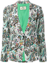 Etro printed blazer - women - Silk/Acetate - 42