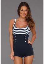 Seafolly Seaview Boyleg Maillot Women's Swimsuits One Piece