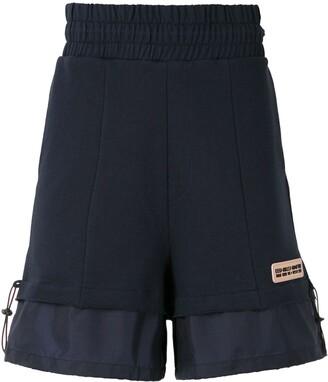 Piet Hybrid track shorts