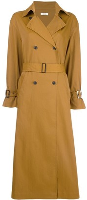 Jason Wu Pleated Back Trench Coat