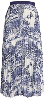Claudie Pierlot Toile Print Midi Skirt