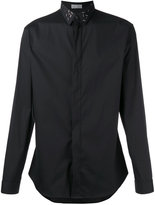 Christian Dior embellished collar shirt