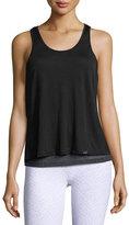 Koral Activewear Shift Split-Back Sleeveless Top