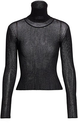 Altuzarra Bryan Lurex Knit Turtleneck