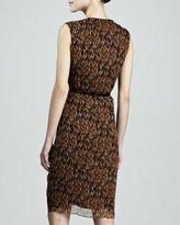 Carolina Herrera Sleeveless Ruffled Dress