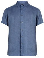 Brioni Loose-fit Linen Shirt