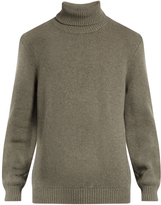 Massimo Alba Roll-neck wool sweater