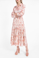 Brock Collection Bayley Rose Print Blouse