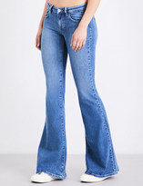GUESS X ASAP ROCKY Guess Originals x A$AP Rocky bell bottom flare low-rise jeans