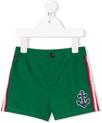 Gucci Kids Anchor Shorts