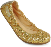 Gold Sequin Brianna Ballet Flat