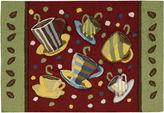Nourison Coffee Mugs Washable Rectangular Rug