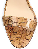 Manolo Blahnik Angufac Cork Sandals
