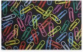 Fun Rugs Fun RugsTM Paper Clips Accent Rug