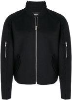 Yang Li slim-fit zipped jacket