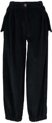 Acephala Baggy Green Corduroy Trousers