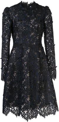 J. Mendel Guipure lace cocktail dress
