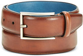 Ryan Seacrest Distinction Ryan Seacrest Disctinction Perfect Tan Glove Leather Belt
