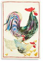 """Sur La Table Rooster Linen Kitchen Towel, 28"""" x 20"""""""