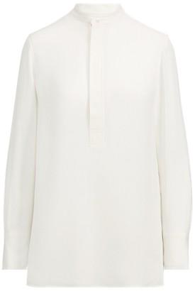 Ralph Lauren Silk Long-Sleeve Blouse