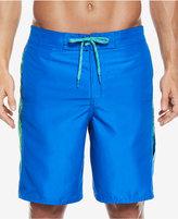 "Nike Swim Men's Filter Splice Elastic Waist Board Shorts, 9"""