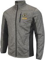 Men's Boston Bruins Space-Dye Full-Zip Fleece Jacket