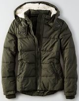 American Eagle AEO Quilted Parka