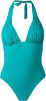 Carine Gilson padding triangle swimsuit - women - Polyamide/Spandex/Elastane - S