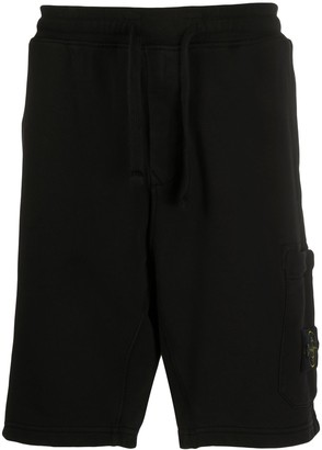 Stone Island Loose Fit Track Shorts