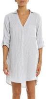 Papinelle Basic Stripe Boyfriend Shirt