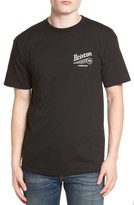 Brixton Men's Maverick Standard Graphic T-Shirt