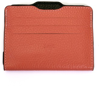 Atelier Hiva Double Card Holder Coral & Black