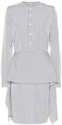 Stella McCartney Striped cotton shirt dress