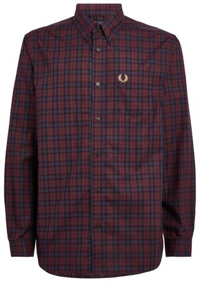Fred Perry Tartan Check Button-Up Shirt