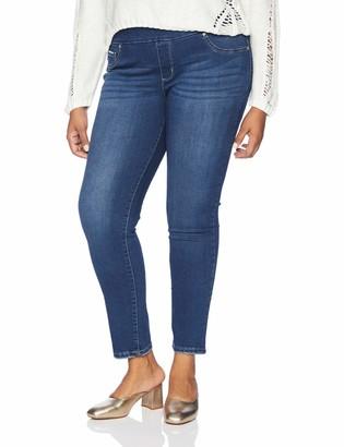 Lee Women's Plus Size Sculpting Slim Fit Skinny Leg Pull on Jean