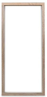 Nkuku Solid Handmade Mango Wood Frame 22 x 50cm