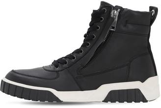 Diesel Leather High Top Sneakers