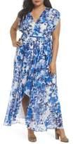 Eliza J Tie Waist Maxi Dress