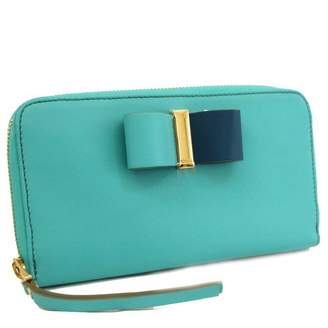 Chloé Turquoise Leather Wallets
