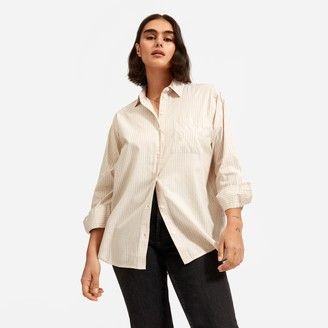 Everlane The Silky Cotton Oversized Shirt