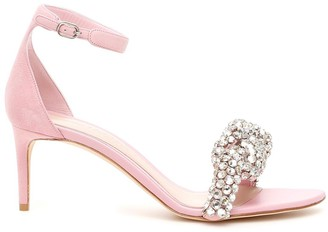 Alexander McQueen Embellished Heeled Sandals
