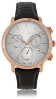 HUGO BOSS Italian Leather Swiss Quartz Chronograph Watch 1513264 One Size Assorted-Pre-Pack