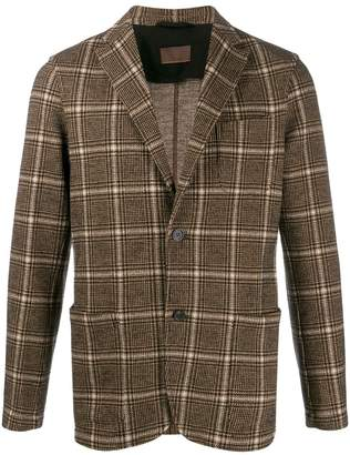Altea checked jersey blazer