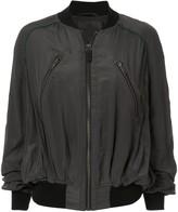 Haider Ackermann slouchy bomber jacket