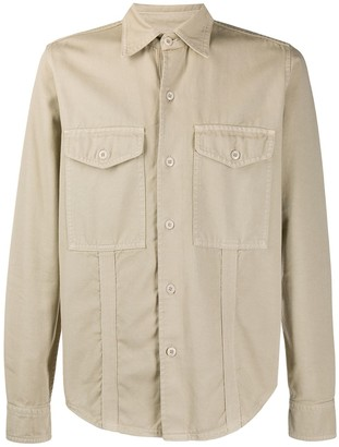 Ami Chest Pockets Overshirt